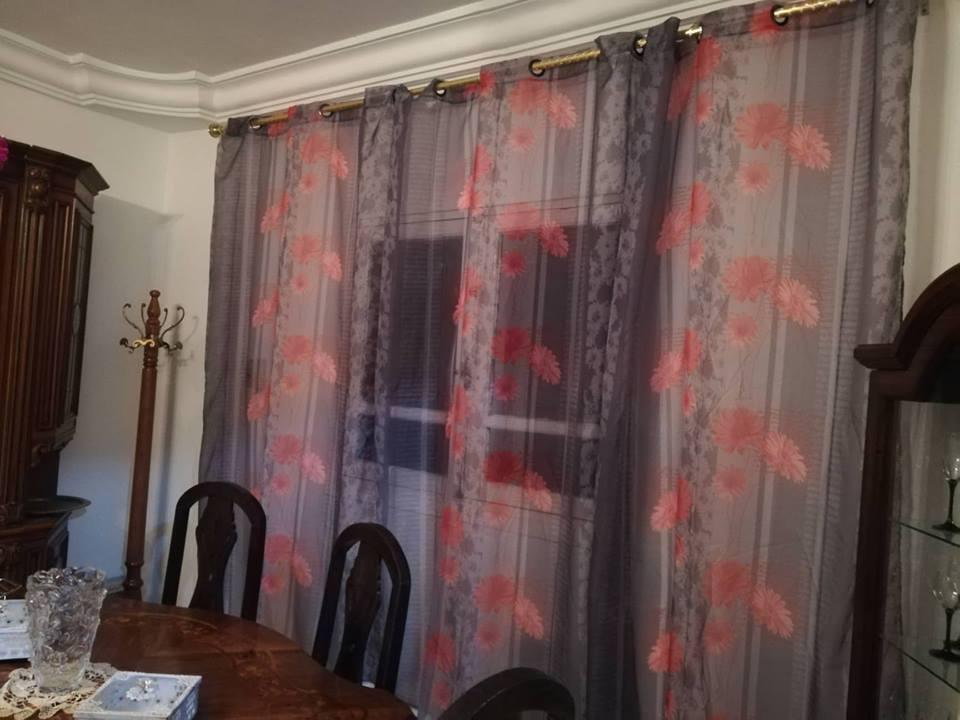 rideaux en tissu meubles et