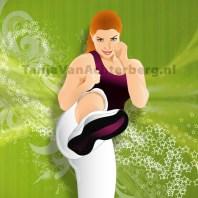 Vectorillustratie voor sportschool