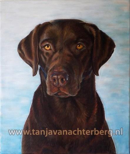 Portret van Asta