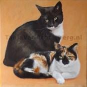 Portret van Shoshanna en Dax