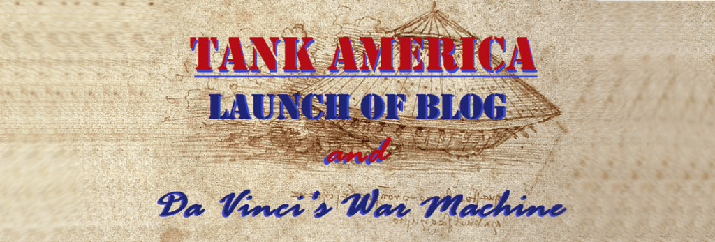 Tank America Blog Launching