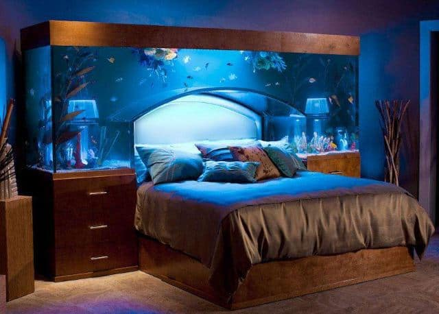 9 Celebrities With Fish Tanks 8 Is Awesome
