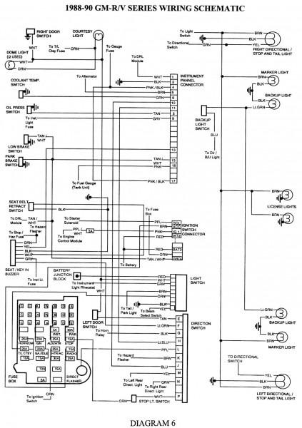 2005 Chevy Silverado Tail Light Wiring Diagram