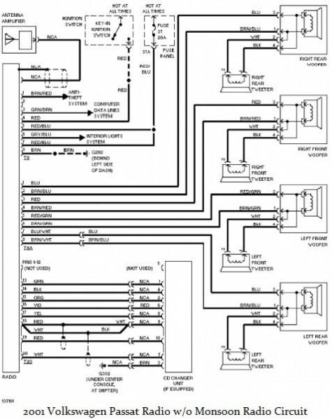2003 Jetta Radio Wiring Diagram