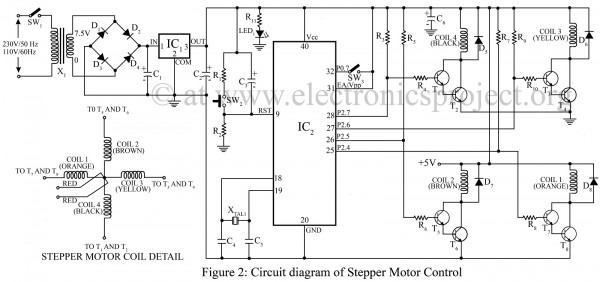 Stepper Motor Control Using Microcontroller At89c51 â