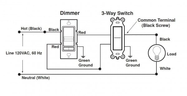 Leviton Three Way Switch Wiring