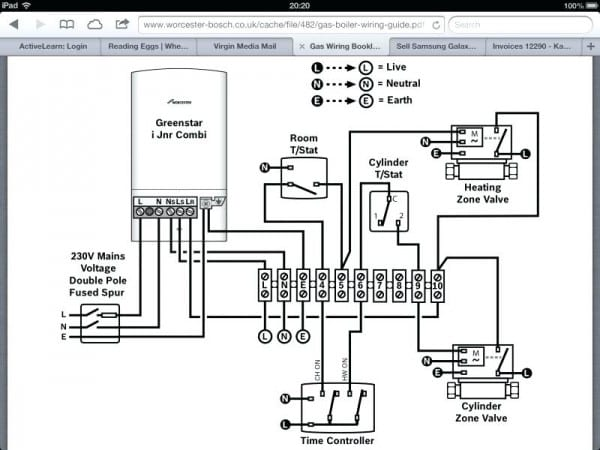 Steam Boiler Wiring Diagram