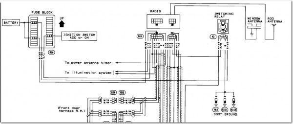 2002 Nissan Altima Bose Stereo Wiring Diagram