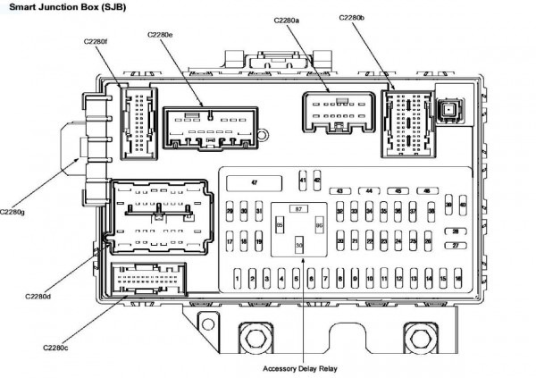 [DIAGRAM] Ford Escape 2005 4 Cyl Fuse Box Diagram FULL