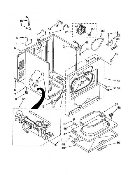 Kenmore Dryer Parts List