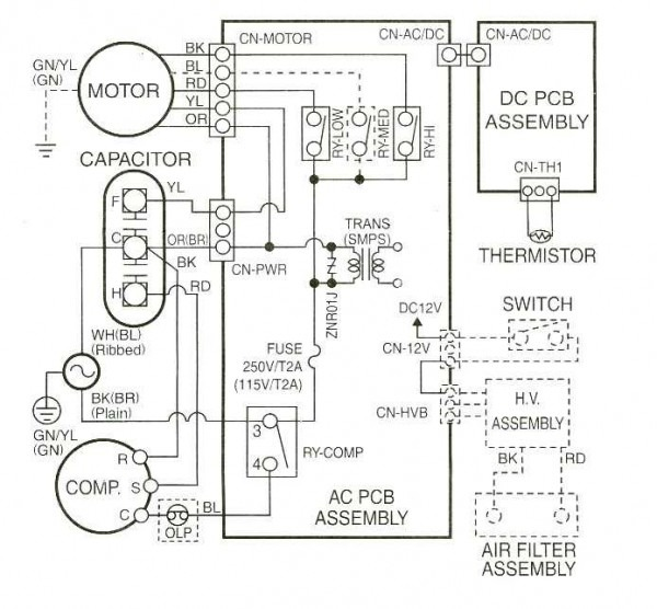 Gas Furnace Schematic Diagram