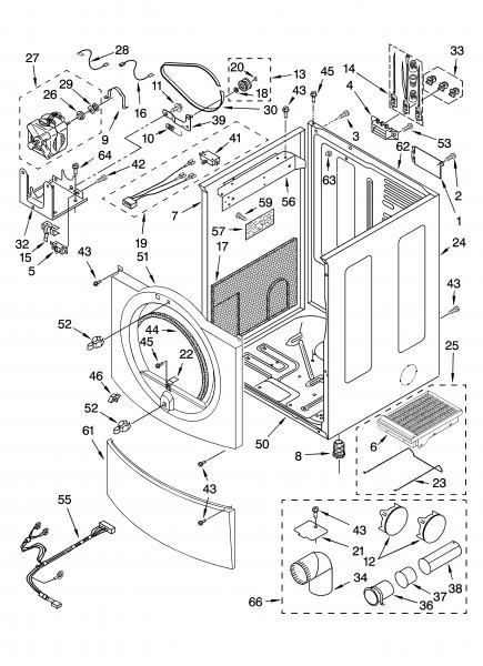Duet Dryer Parts