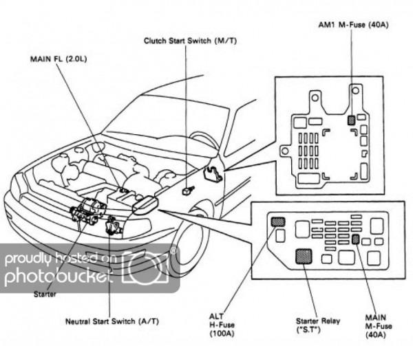 1996 Toyota Camry Starter