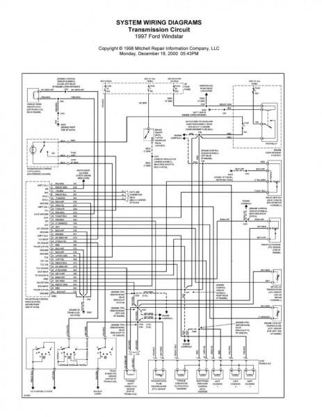 1997 Ford Escort Wiring Diagram
