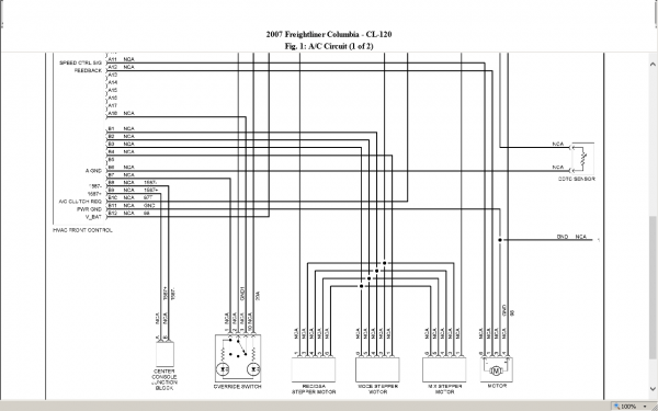 Freightliner Electrical Diagram