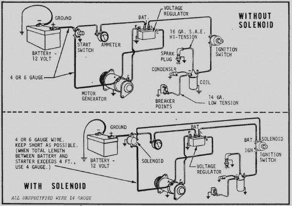 Delco Remy Starter Wiring Diagram