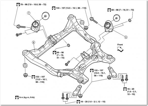 2002 Nissan Altima Motor Mount