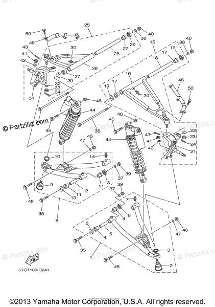 Suspension Parts Diagram