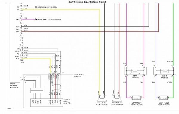 2012 scion xb remote start wiring schematic  schematic