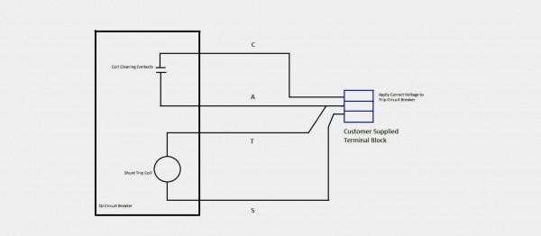 Shunt Trip Wiring Diagram Square D