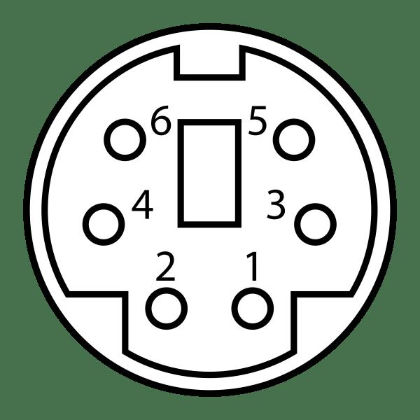 6 Pin Mini Din Pinout