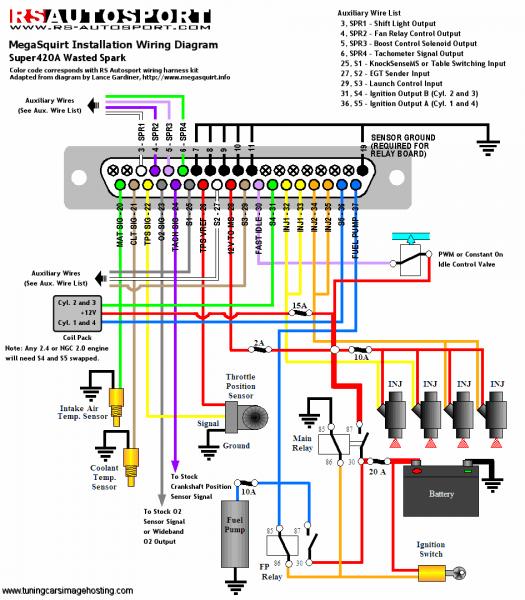 car speaker wiring diagram