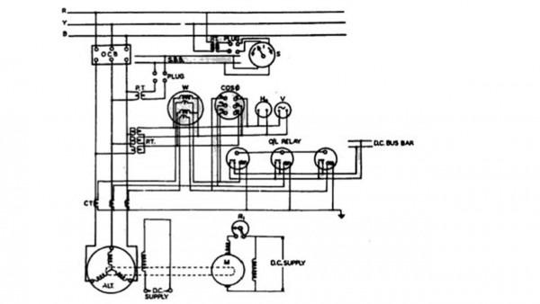 Alternator Electrical Diagram