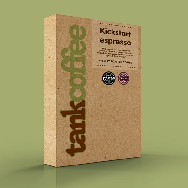 Kickstart gourmet espresso   Tank Coffee