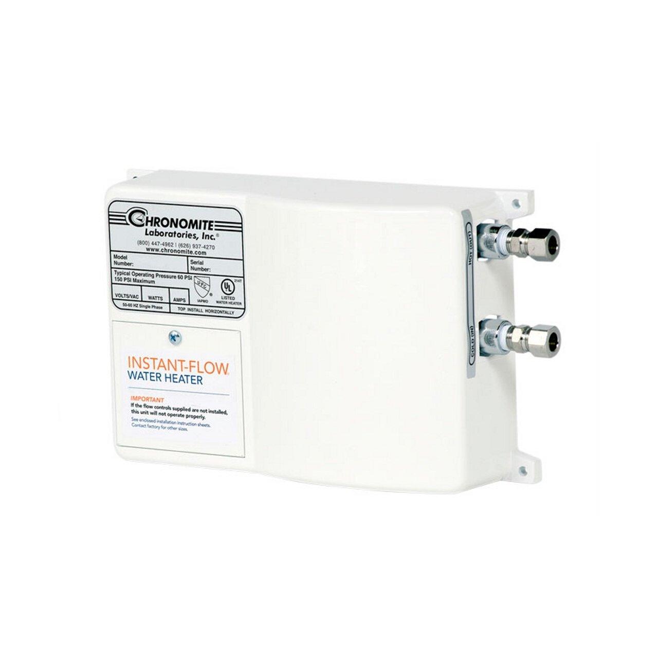 Chronomite SR-20L HTR 240-Volt Low Flow Tankless Water Heater