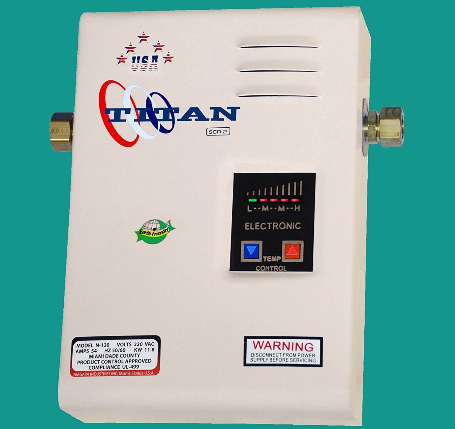 Electric SCR2 Titan N-120 Tankless Water Heater