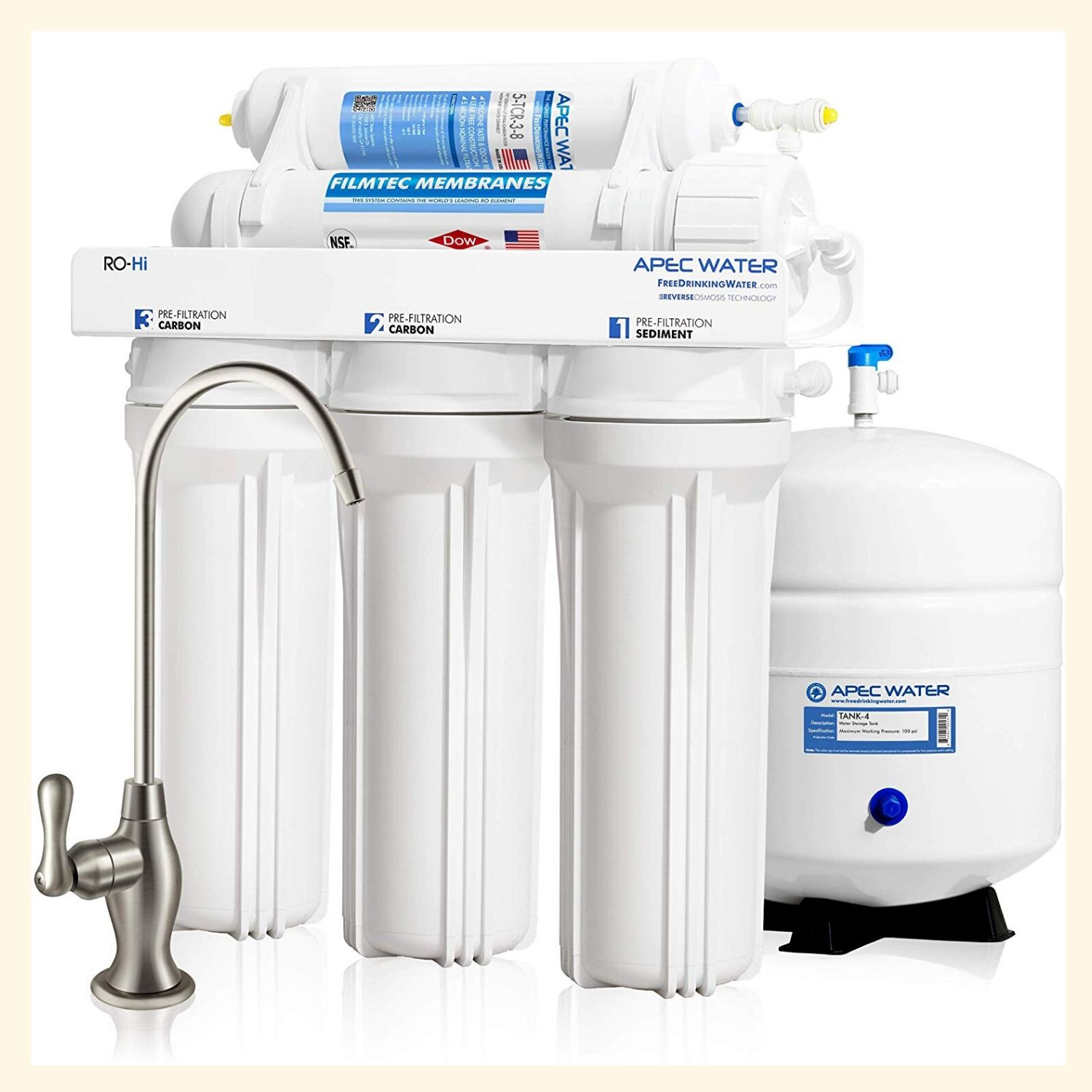 APEC RO-90 Osmosis Drinking Water Filter System
