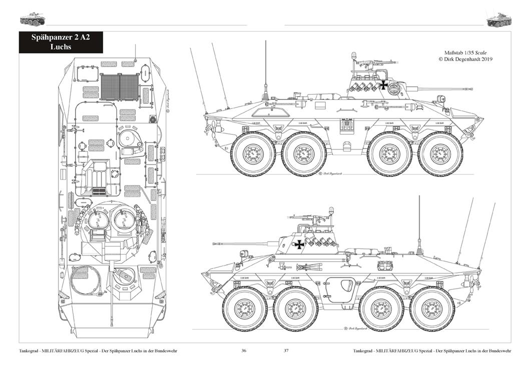LUCHS Der Spähpanzer 2 A0/A1/A2 in der Bundeswehr