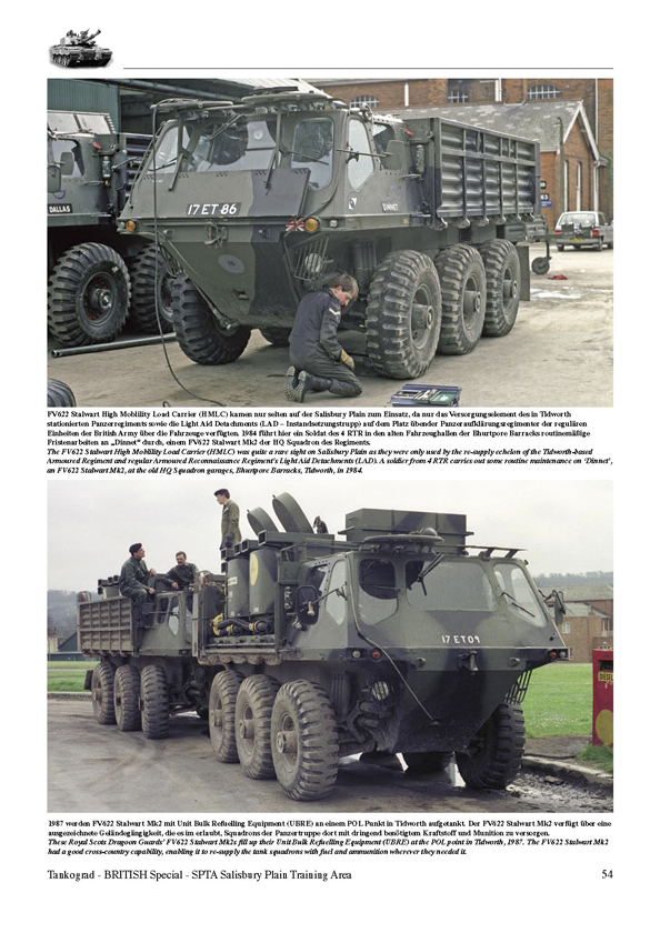SALISBURY PLAIN TRAINING AREA British Army Vehicles On