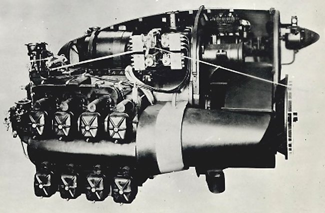 gypsy major engine mock-up