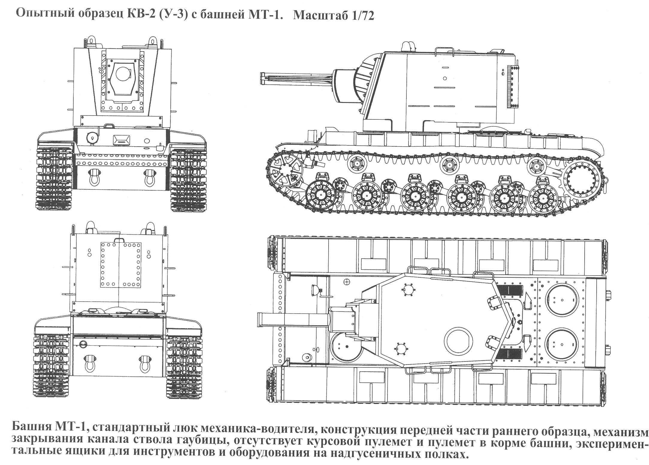 KV-2 Soviet heavy self propelled gun (1940)