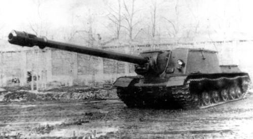 Object 246 (ISU-152-1) with the 152 mm BL-8