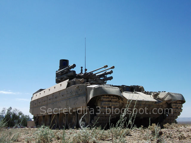 Algerian BMPT that is being trialed in Algeria.