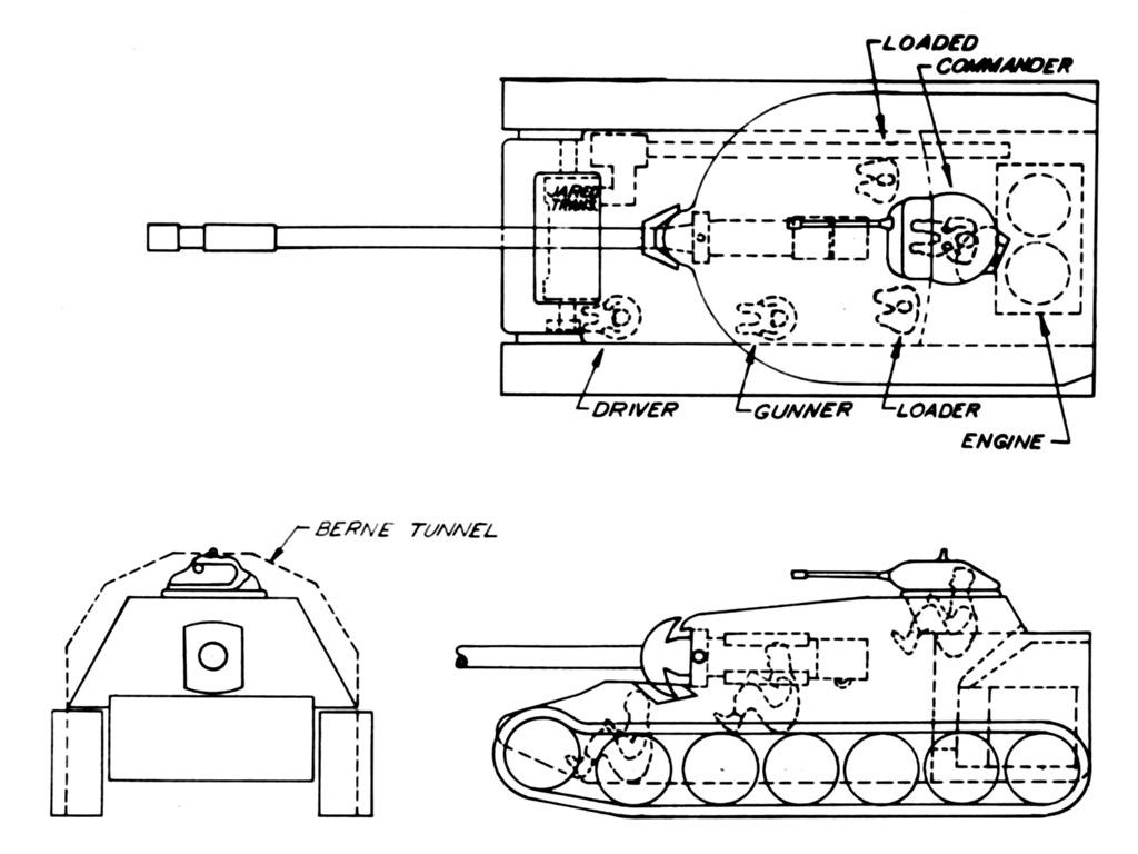 120mm Gun Tank T110