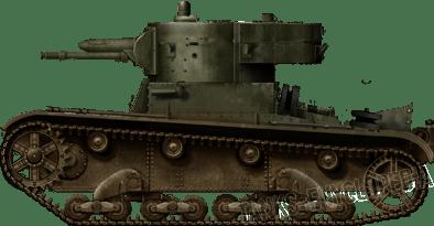 Interpretation of the T-26/37mm by David Bocquelet