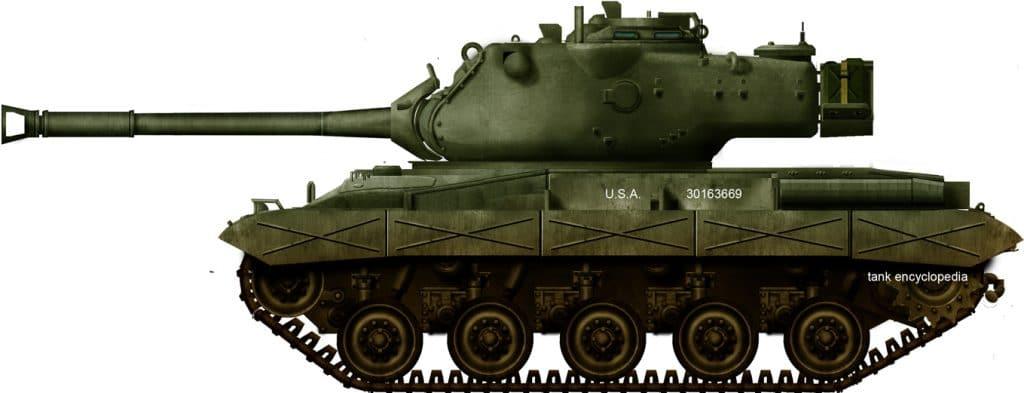 90mm gun tank t42