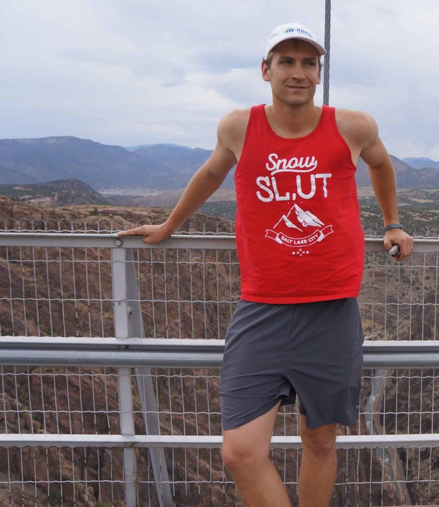 Unisex Men's Salt Lake City Tank Top