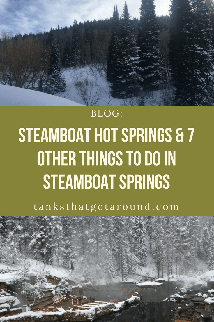 steamboat hot springs things to do in steamboat springs