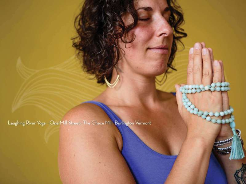 New Laughing River Yoga print work