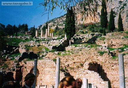Delfi -Tempio di Apollo, panorama