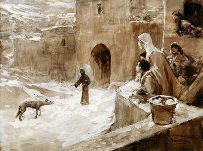 San Francesco ed il lupo