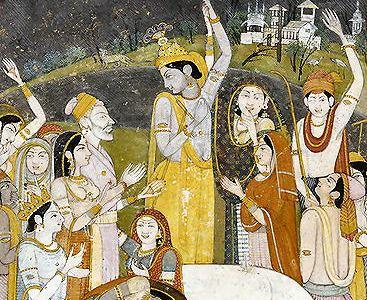Krishna, l'avatar del dio Visnu