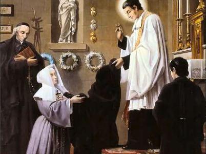 """San Luigi Maria Grignion de Monfort ed il """"Trattato Della Vera Devozione A Maria"""""""