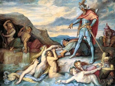 La famosa Saga dei Nibelunghi