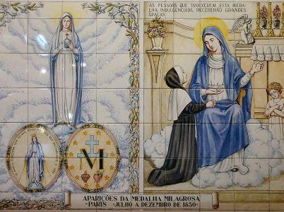 27 novembre, Beata Vergine della Medaglia Miracolosa