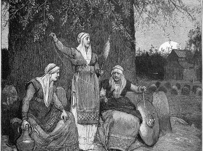 Le Norne norrene, le divinità che incarnavano il fato ineluttabile